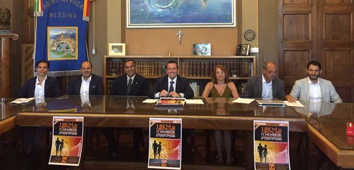 Presentato oggi, nella sede del Consiglio dell'Ordine degli avvocati di Messina, il Memorial dedicato a Luigi Cacopardi in programma sabato 26 agosto.