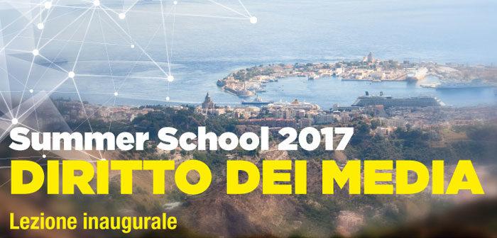 Summer School 2017: martedì lezione inaugurale