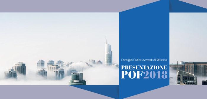 Presentato il Piano dell'Offerta Formativa 2018