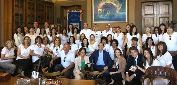 Oltre 100 ministeriali israeliani in visita all'Ordine degli Avvocati di Messina.