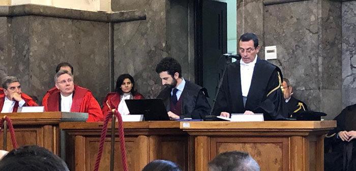 Il testo integrale dell'intervento del Presidente Avv. Vincenzo Ciraolo pronunciatonel giorno dell'inaugurazione dell'anno giudiziario
