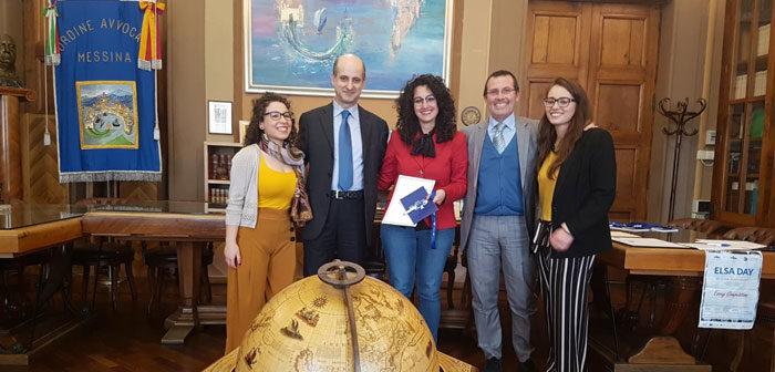 """Si è conclusa la prima edizione messinese di """"Essay Competition"""". Una occasione per celebrare i diritti umani."""